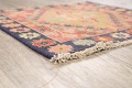Antique 100% Vegetable Dye Abadeh Persian Rug 2x2 Square image 5