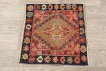 Antique 100% Vegetable Dye Abadeh Persian Rug 2x2 Square image 9