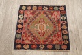 Antique 100% Vegetable Dye Abadeh Persian Rug 2x2 Square image 10