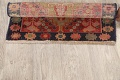 Antique 100% Vegetable Dye Abadeh Persian Rug 2x2 Square image 11