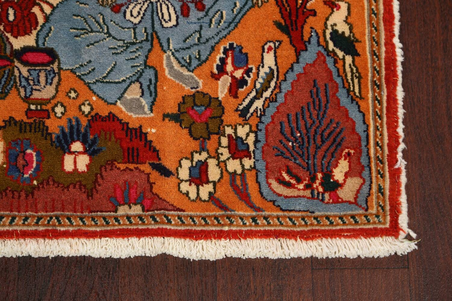 Pictorial Set of 2 Shiraz Persian Area Rugs 2x3 image 6