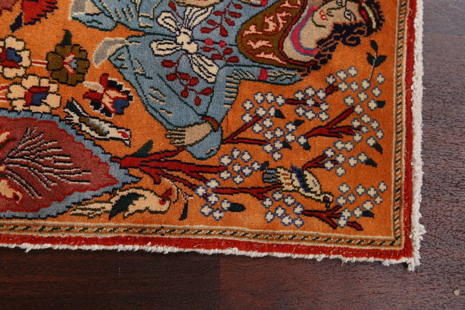 Pictorial Set of 2 Shiraz Persian Area Rugs 2x3 image 11
