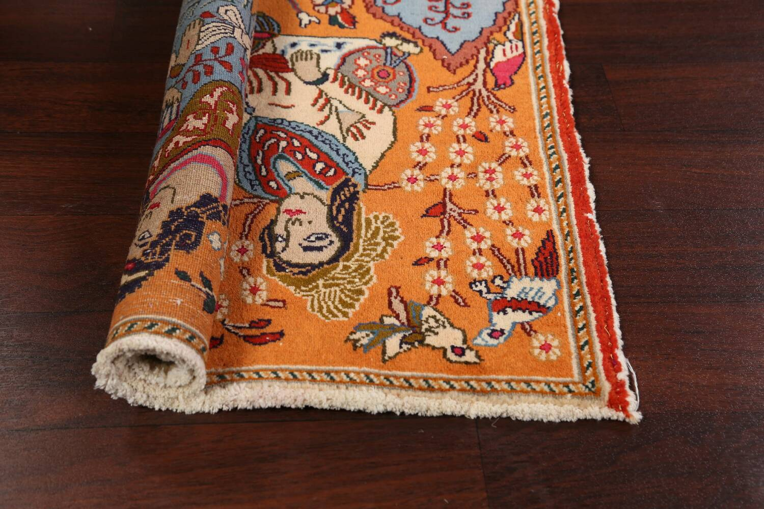 Pictorial Set of 2 Shiraz Persian Area Rugs 2x3 image 15