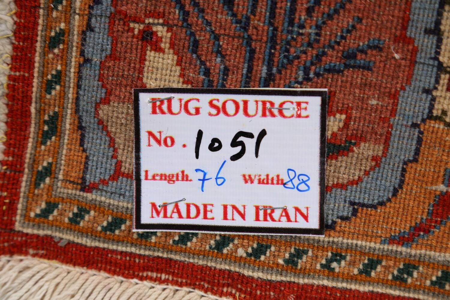 Pictorial Set of 2 Shiraz Persian Area Rugs 2x3 image 20