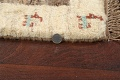 Set of 3 Tribal Gabbeh Persian Area Rugs 1x1 Square image 5