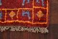Set of 2 Tribal Gabbeh Persian Area Rugs 1x1 Square image 4