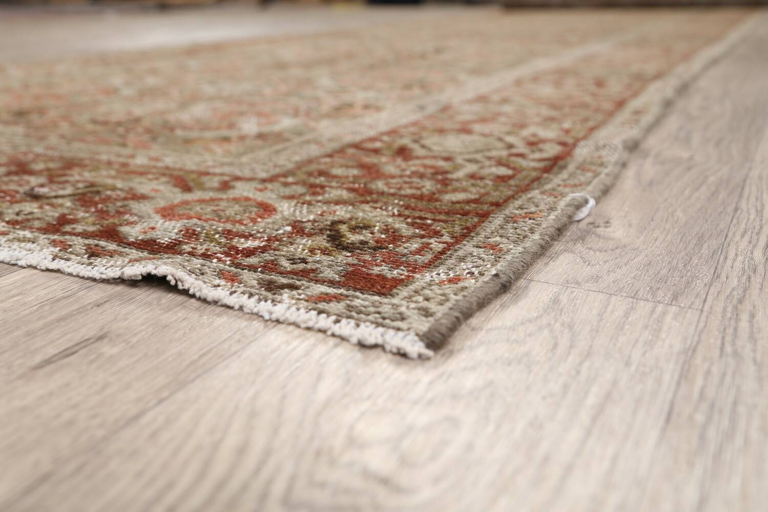 Pre-1900 Antique Malayer Persian Runner Rug 2x16 image 6