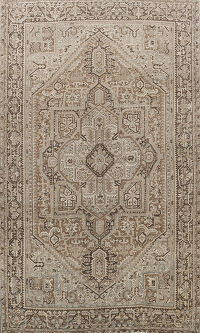 Antique Heriz Persian Area Rug 10x13