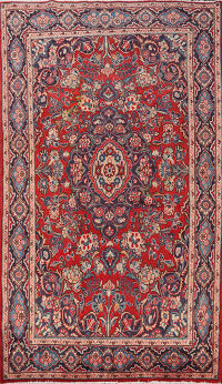 Floral Ghazvin Persian Area Rug 4x6