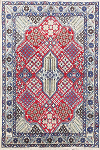 Geometric Nain Persian Area Rug 3x4