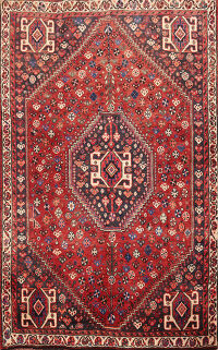 Tribal Abadeh Persian Area Rug 4x5