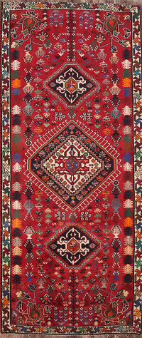 Tribal Abadeh Persian Area Rug 3x7
