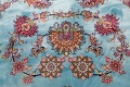 All-Over Floral Silk Large Tabriz Persian Area Rug 13x27 image 10
