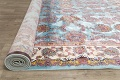 All-Over Floral Silk Large Tabriz Persian Area Rug 13x27 image 17