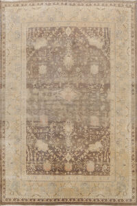 Antique Turkish Oushak Oriental Area Rug 8x9