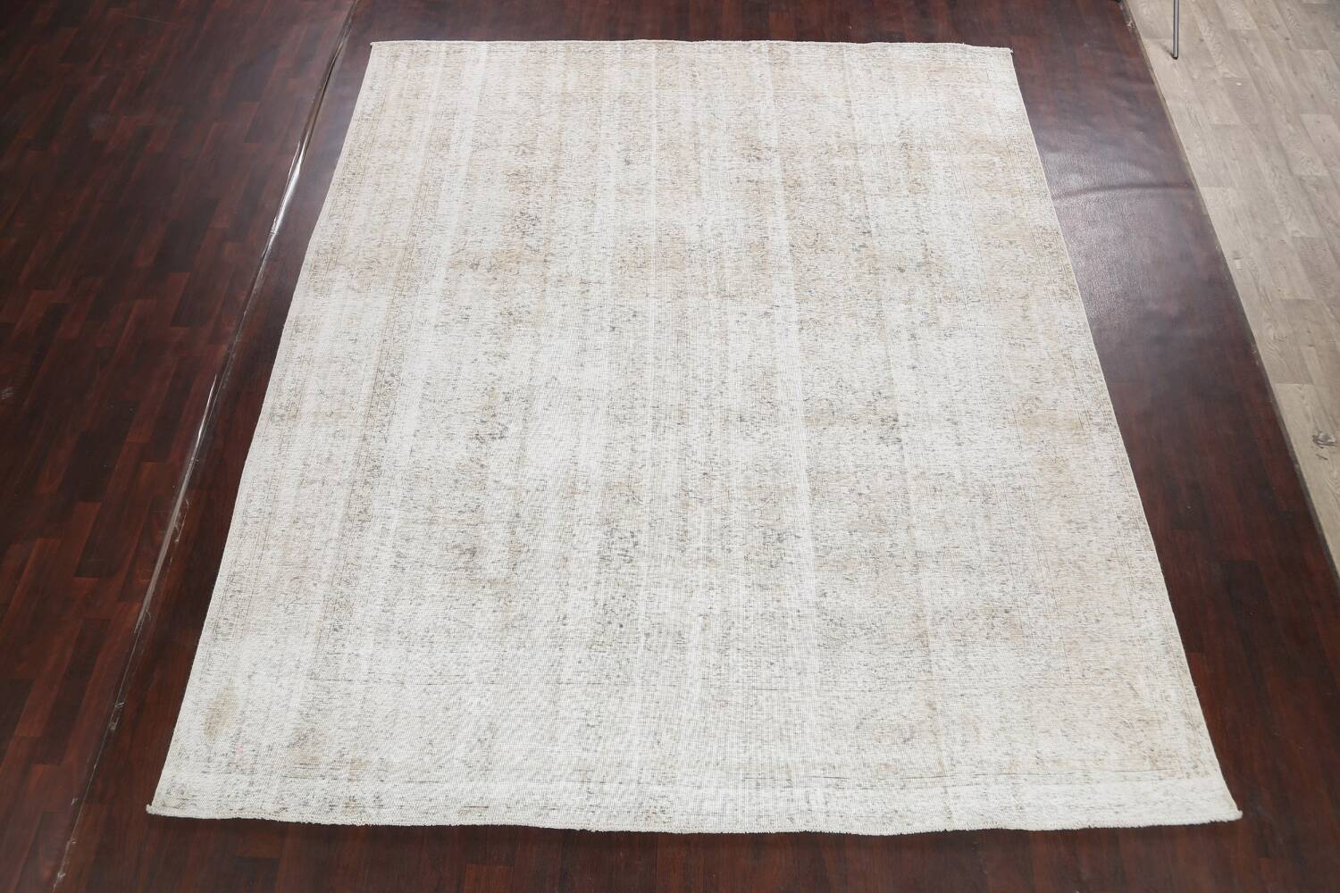 Antique Muted Vintage Distressed Oriental Area Rug 10x11 image 2