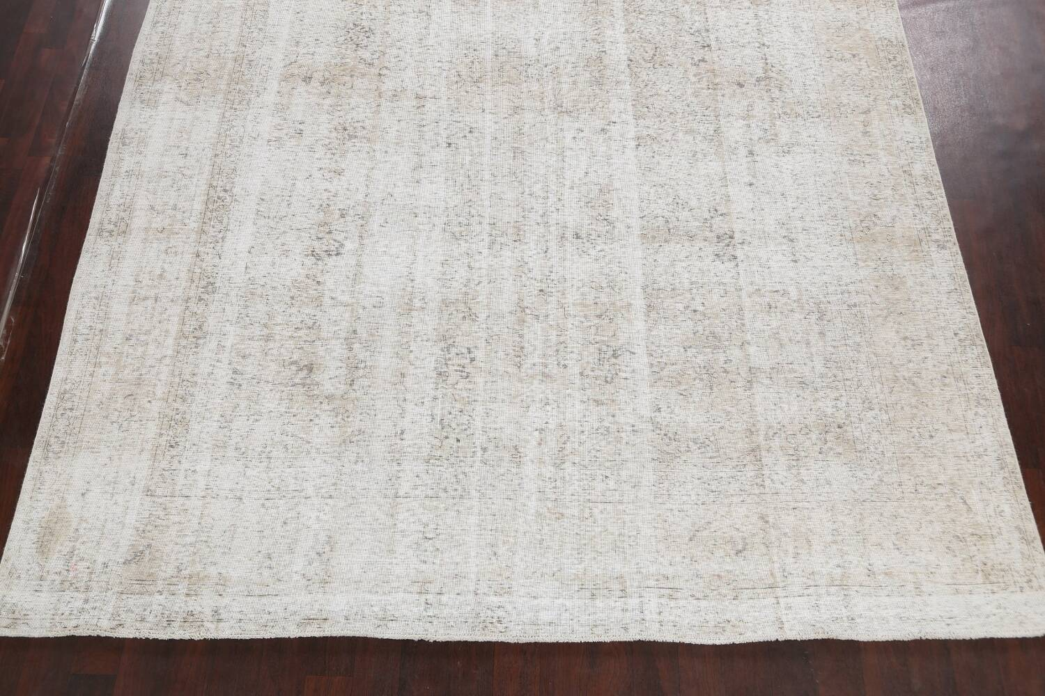 Antique Muted Vintage Distressed Oriental Area Rug 10x11 image 8