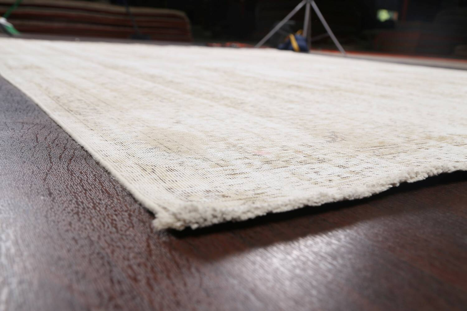 Antique Muted Vintage Distressed Oriental Area Rug 10x11 image 6