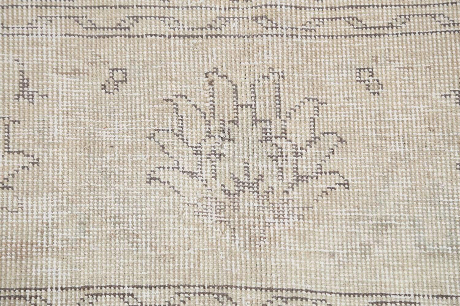 Antique Muted Vintage Distressed Oriental Area Rug 9x12 image 9