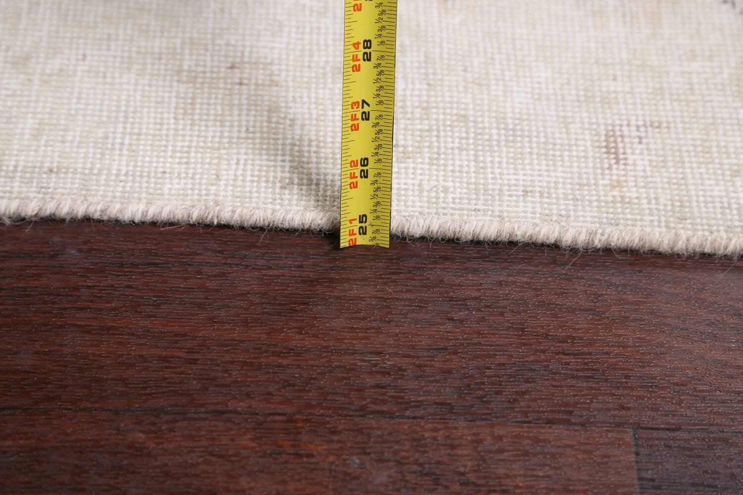 Antique Muted Vintage Distressed Oriental Area Rug 9x12 image 19