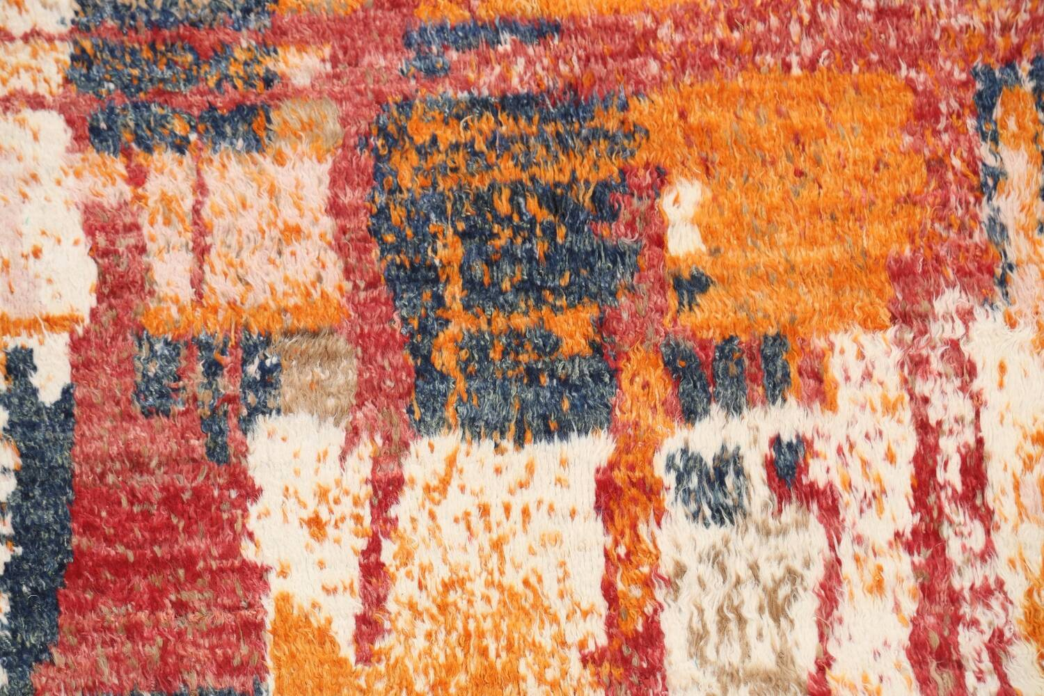 Abstract Moroccan Oriental Area Rug 5x6 image 4