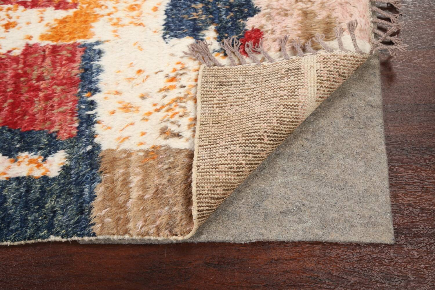 Abstract Moroccan Oriental Area Rug 5x6 image 7