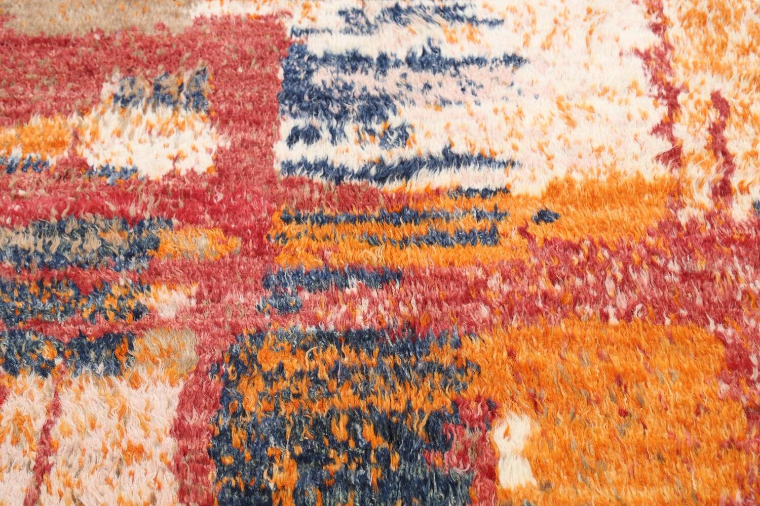 Abstract Moroccan Oriental Area Rug 5x6 image 10
