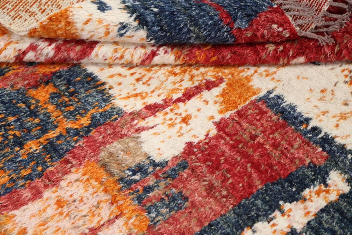 Abstract Moroccan Oriental Area Rug 5x6 image 14