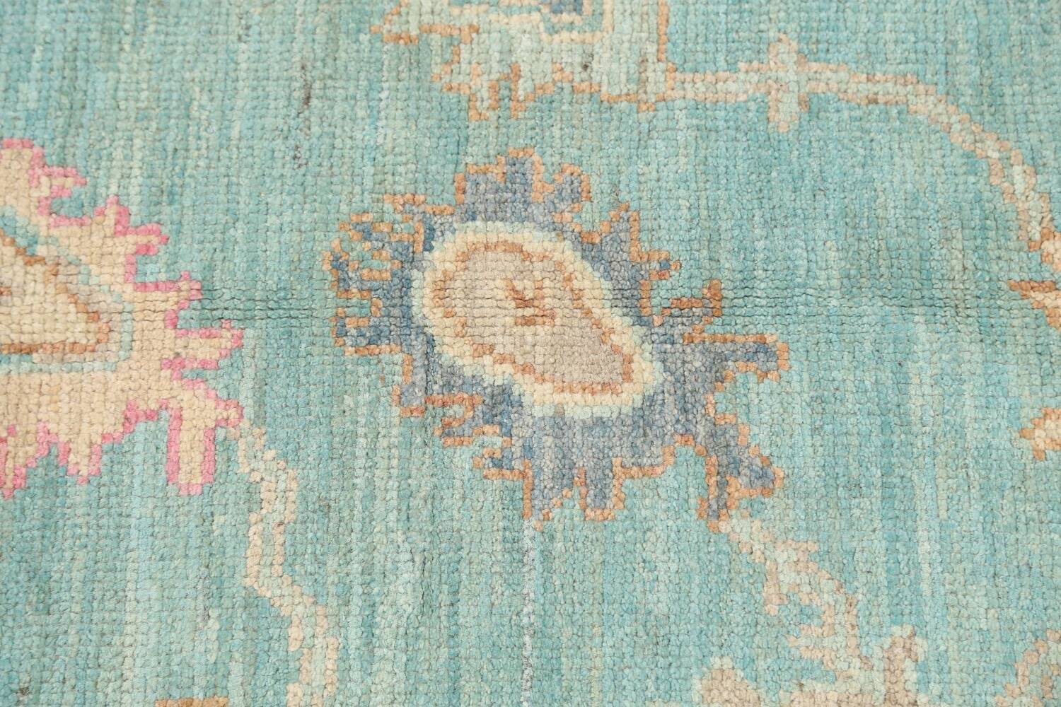 All-Over Oushak Oriental Area Rug 5x7 image 9