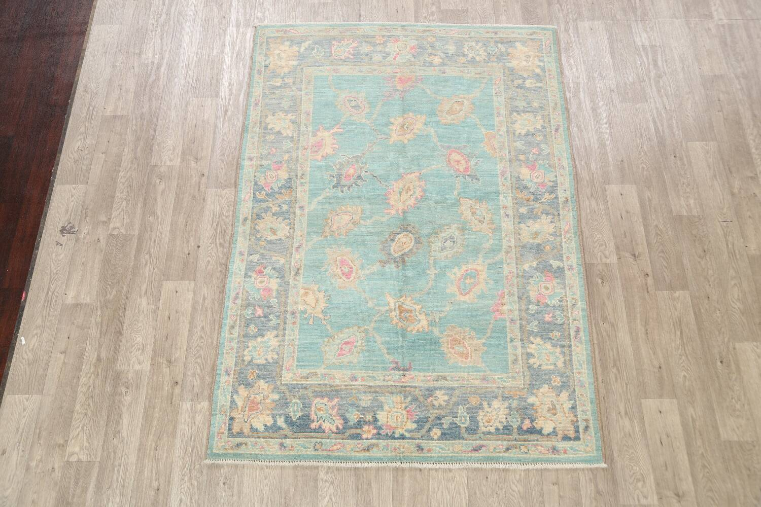 All-Over Oushak Oriental Area Rug 5x7 image 2