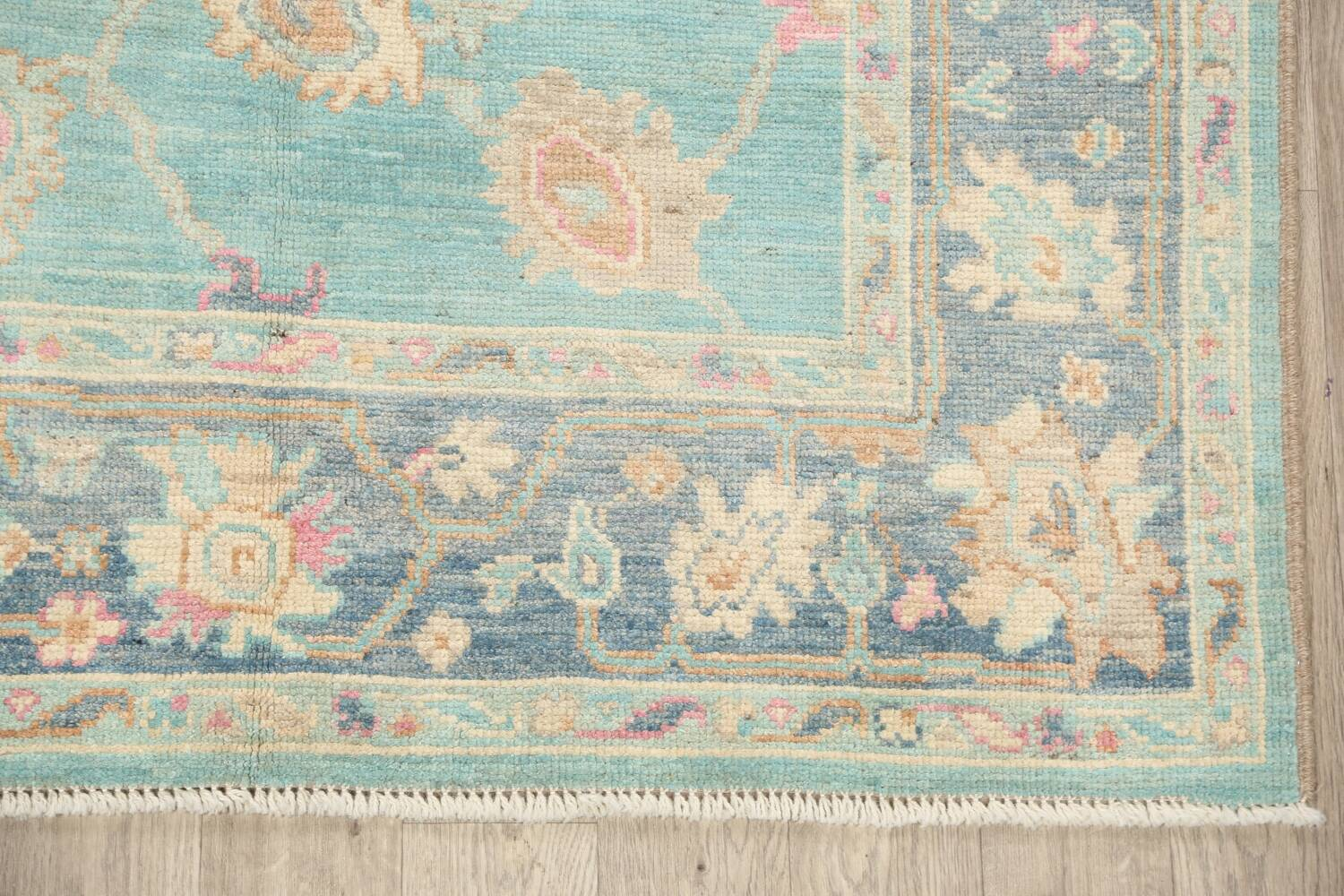 All-Over Oushak Oriental Area Rug 5x7 image 5