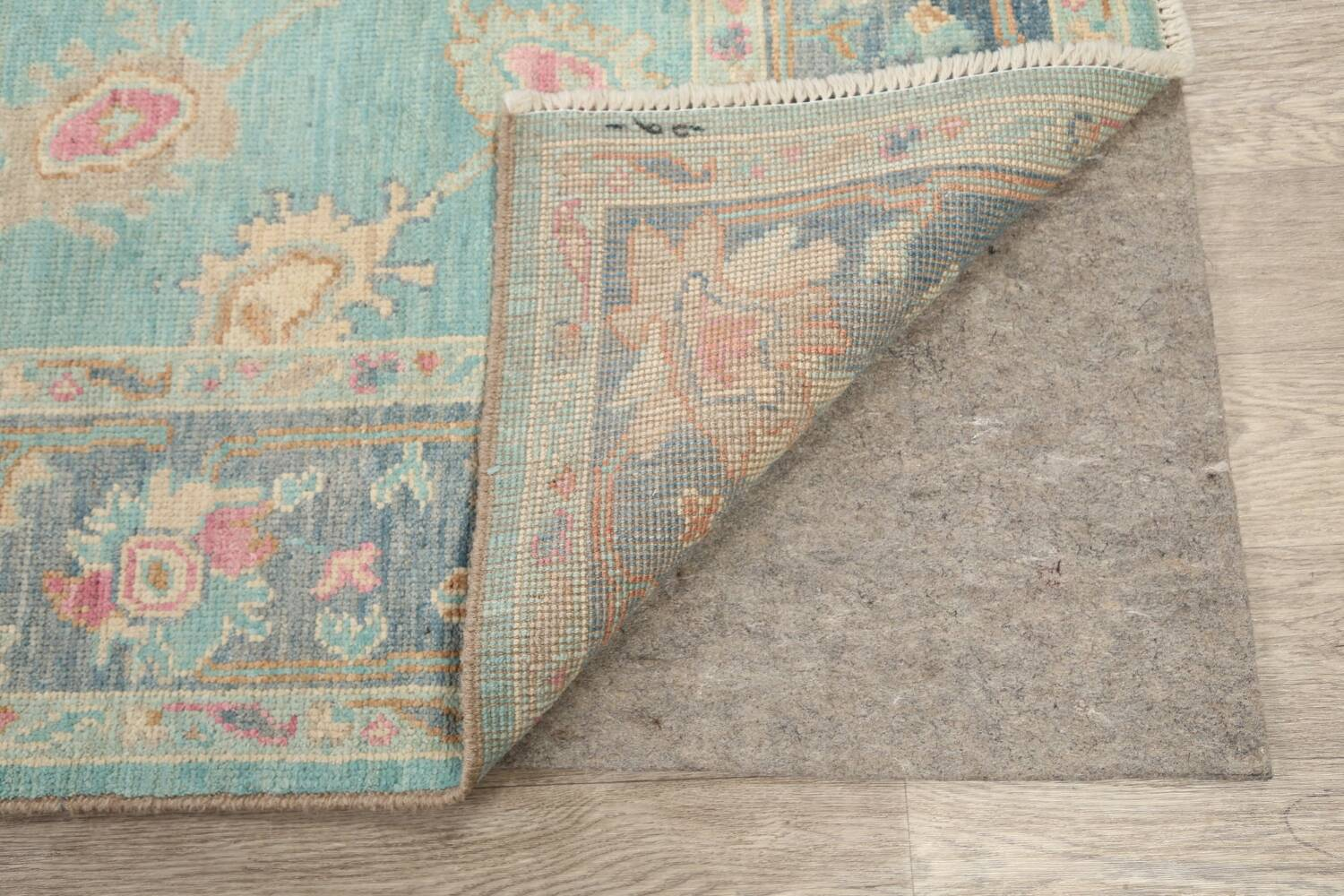 All-Over Oushak Oriental Area Rug 5x7 image 7