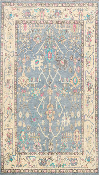 All-Over Oushak Oriental Area Rug 6x9