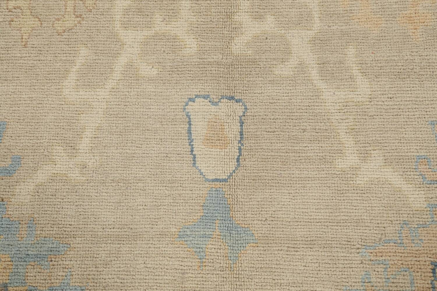 All-Over Oushak Oriental Area Rug 10x13 image 10