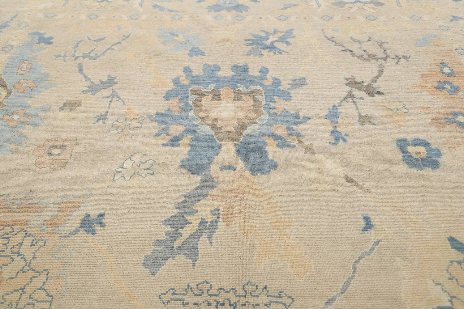 All-Over Oushak Oriental Area Rug 10x13 image 12
