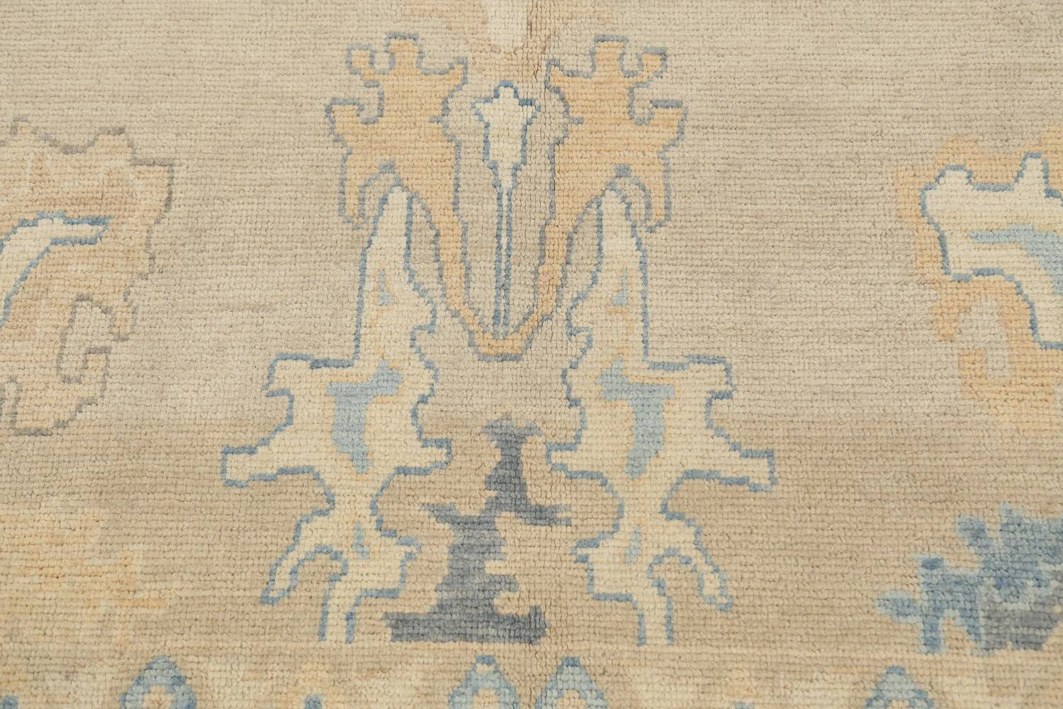 All-Over Oushak Oriental Area Rug 10x13 image 11