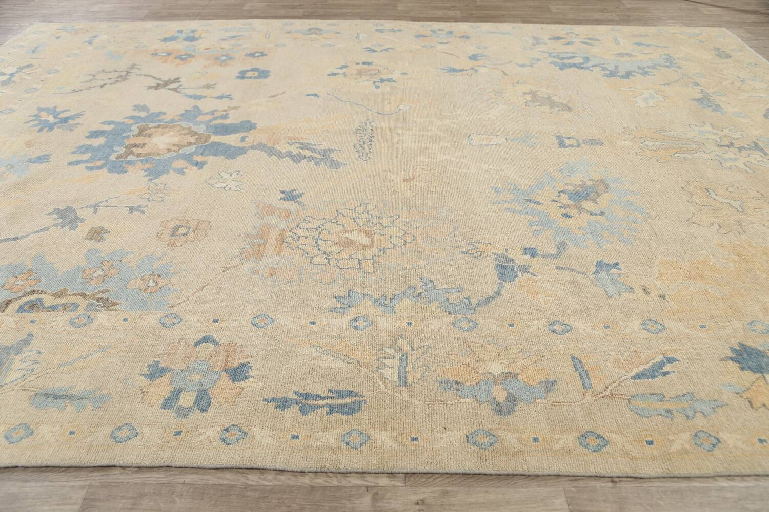All-Over Oushak Oriental Area Rug 10x13 image 14