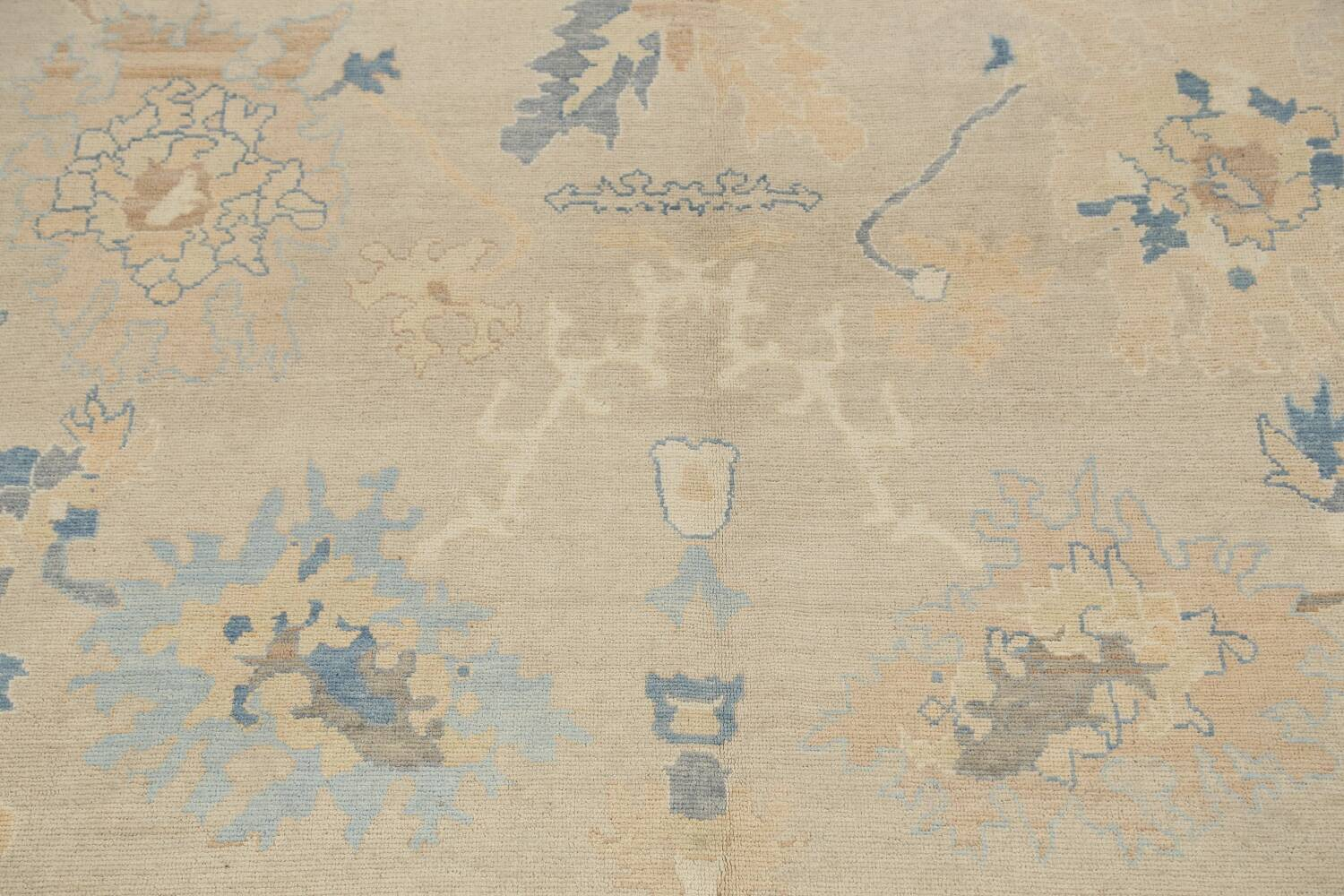 All-Over Oushak Oriental Area Rug 10x13 image 4