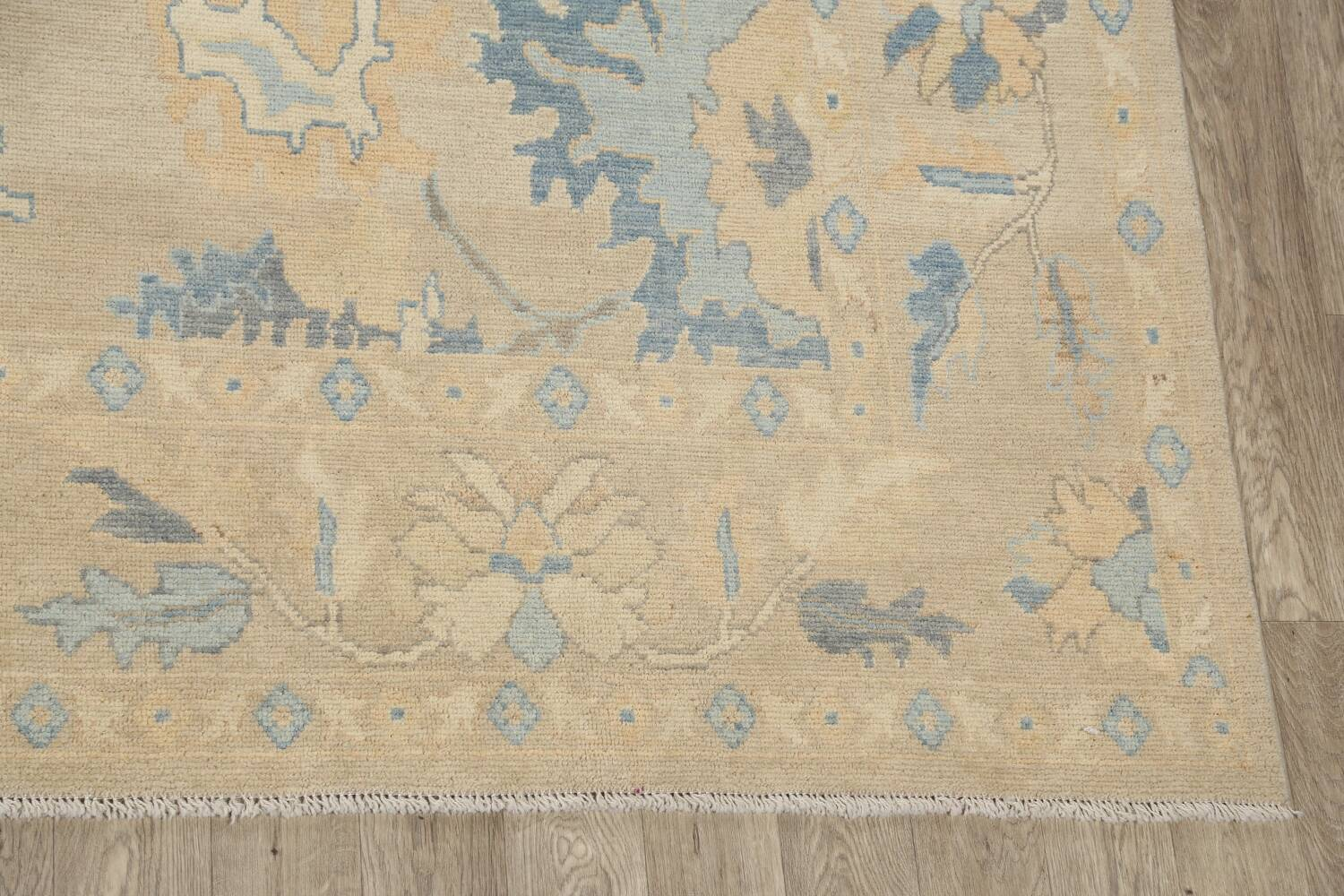 All-Over Oushak Oriental Area Rug 10x13 image 5