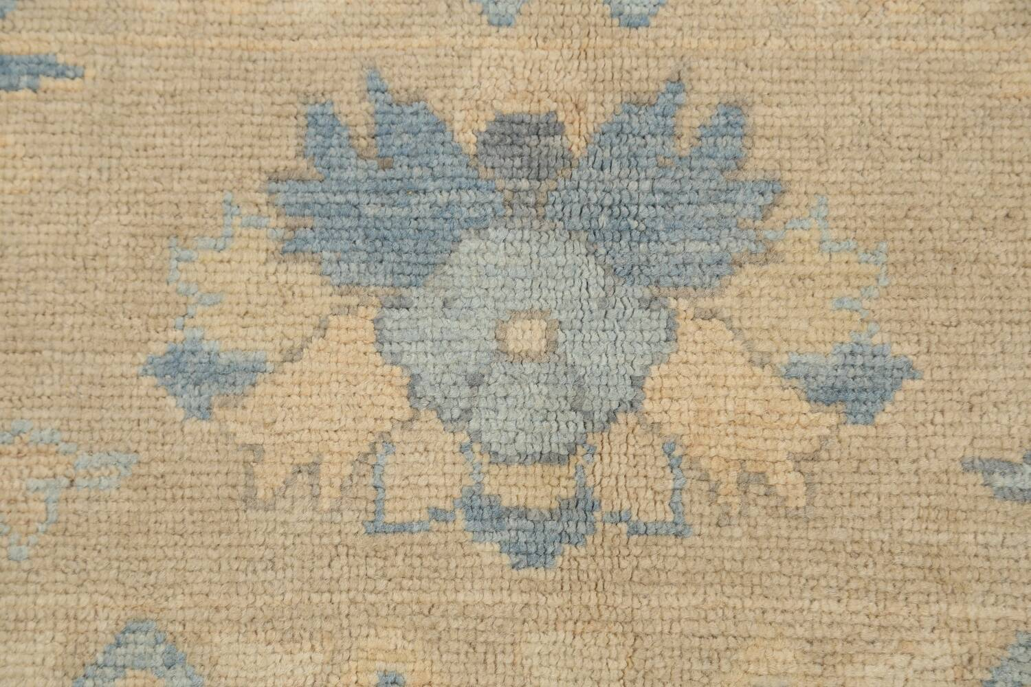All-Over Oushak Oriental Area Rug 10x13 image 9