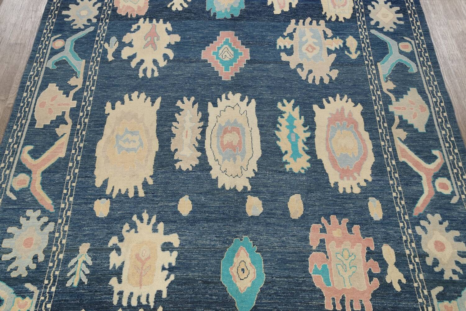 All-Over Oushak Oriental Area Rug 10x14 image 3