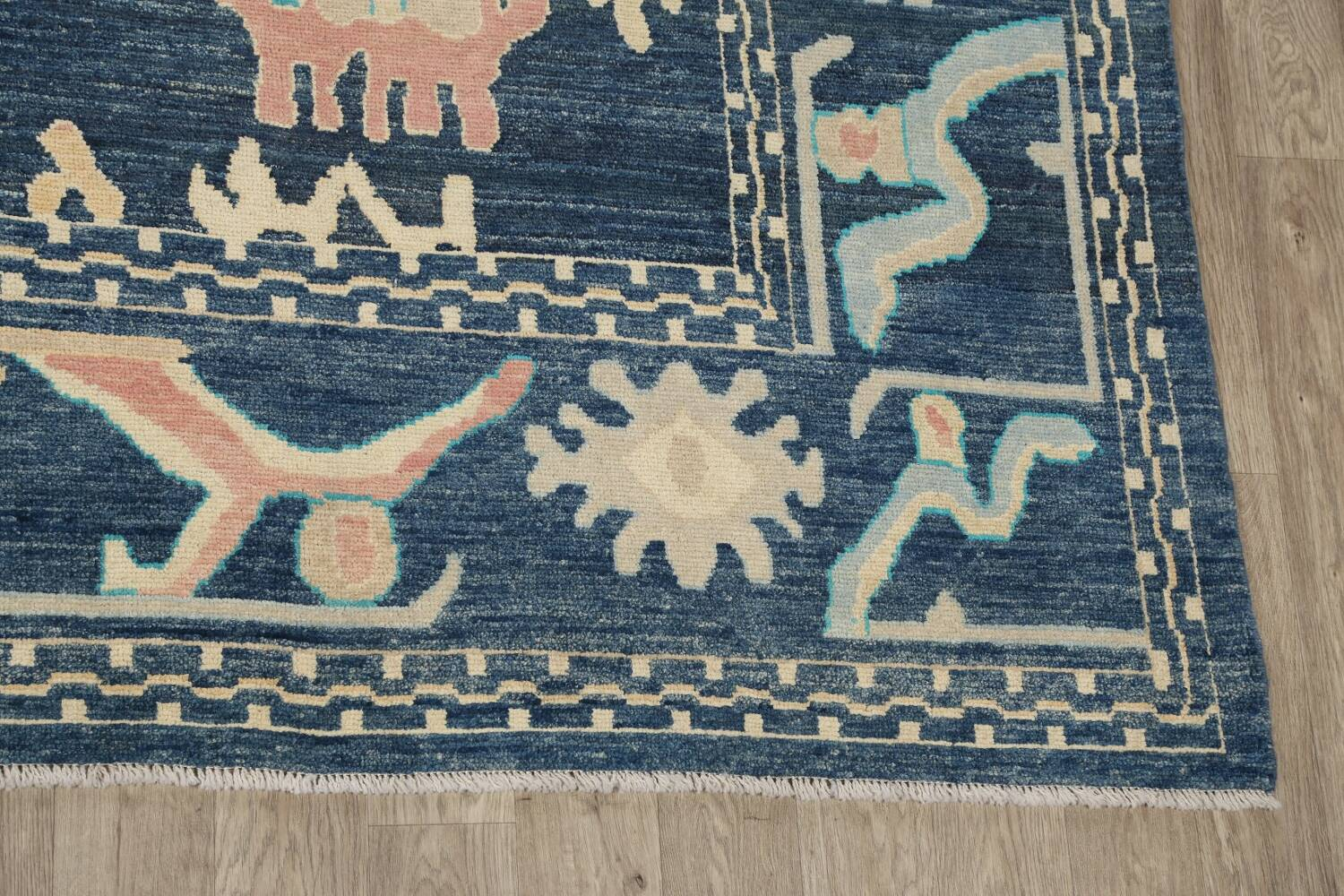 All-Over Oushak Oriental Area Rug 10x14 image 5