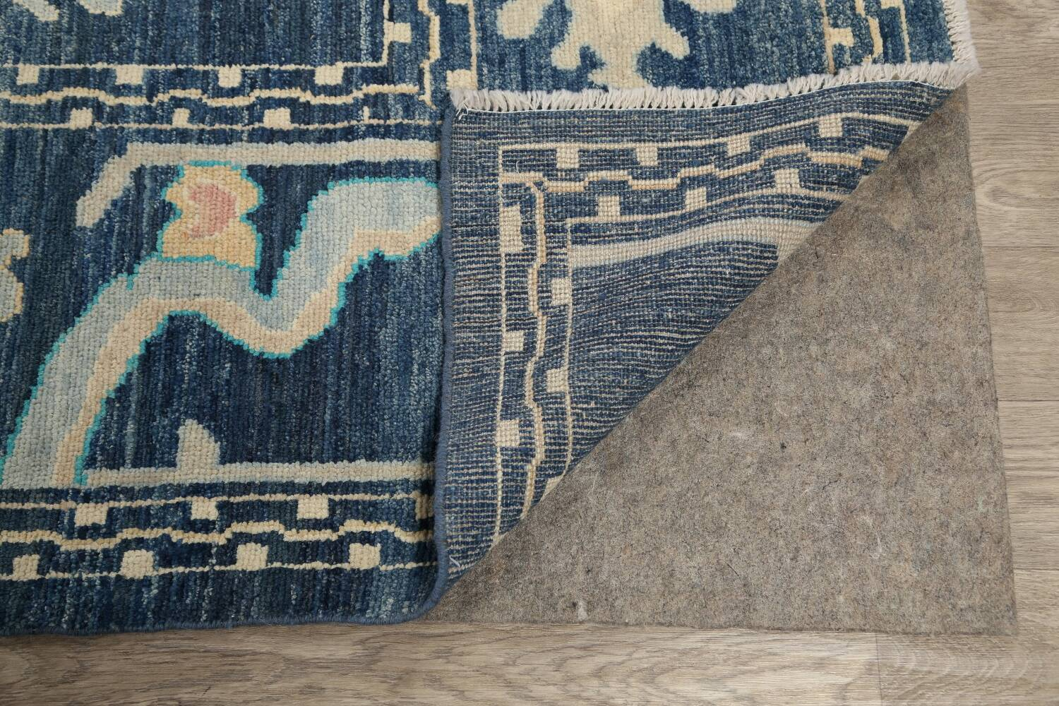 All-Over Oushak Oriental Area Rug 10x14 image 7