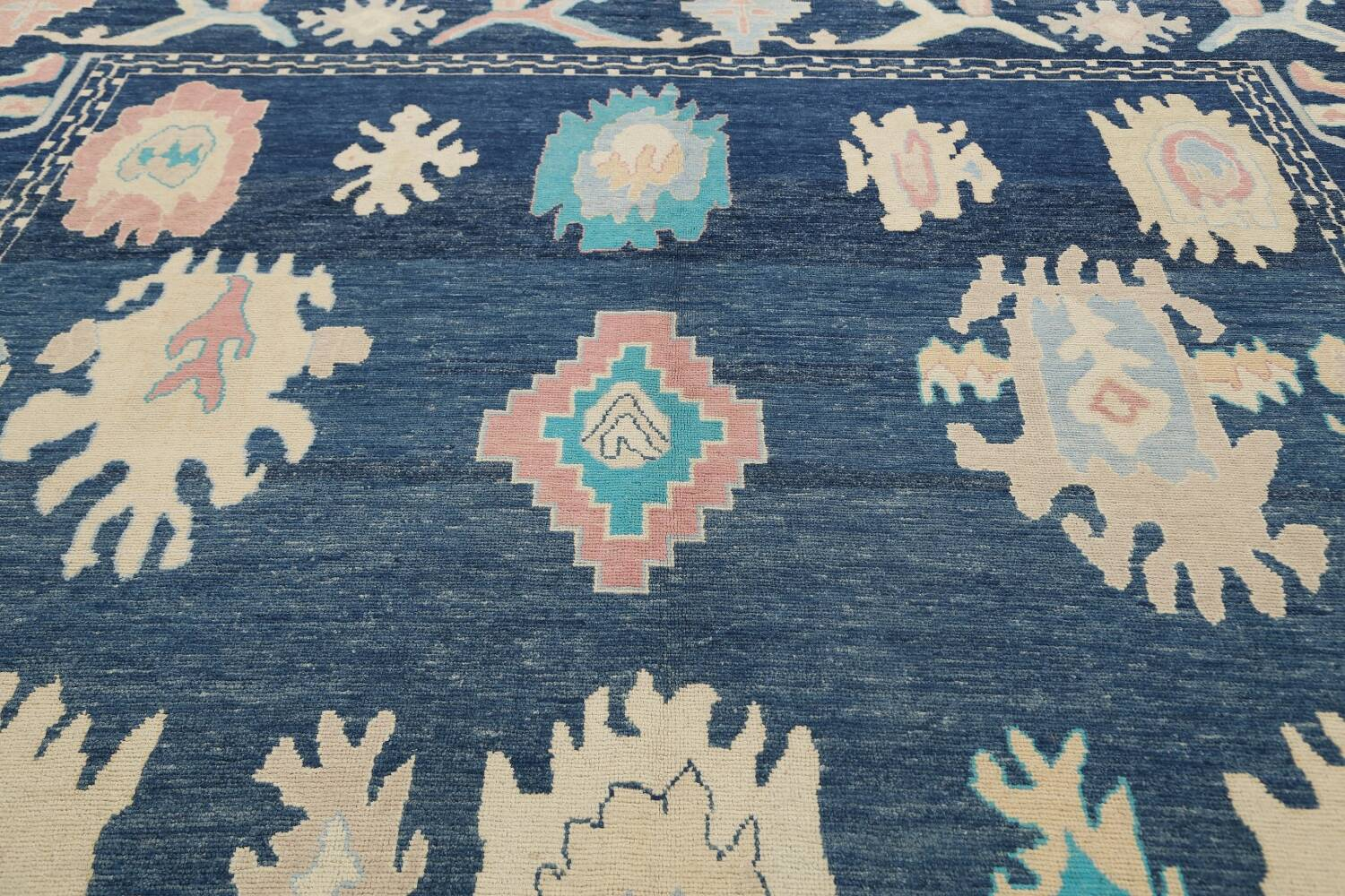 All-Over Oushak Oriental Area Rug 10x14 image 12