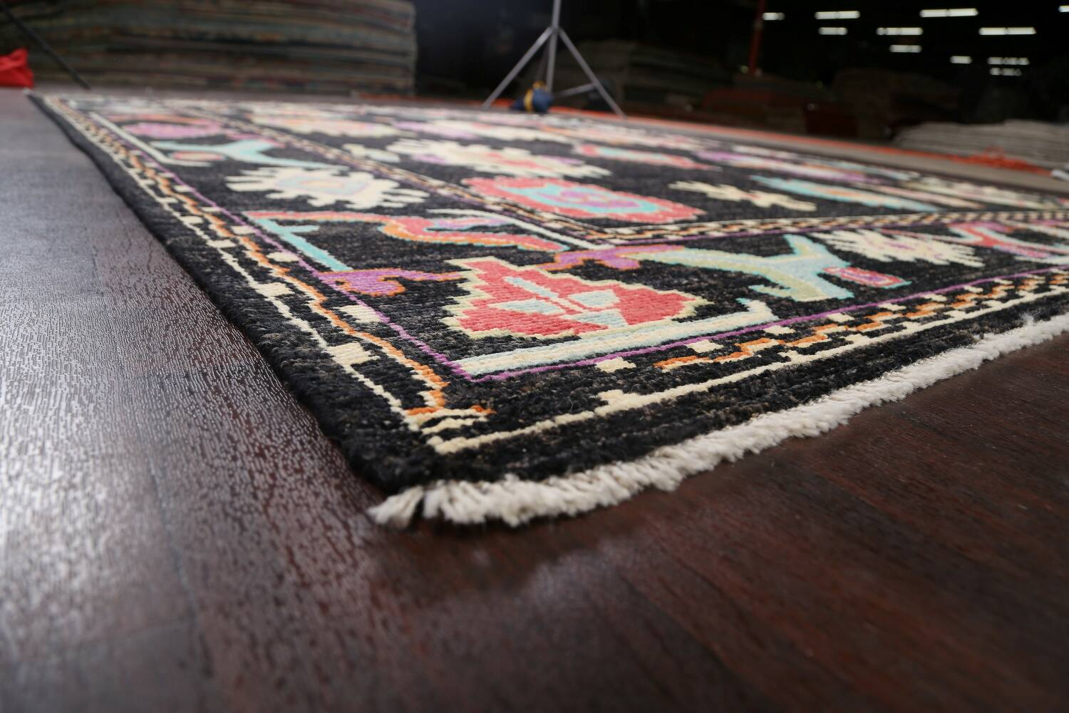 All-Over Authentic Oushak Turkish Oriental Area Rug 9x11 image 6