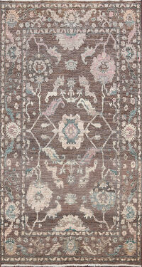 Floral Oushak Oriental Area Rug 6x10