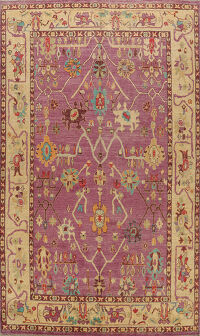 Floral Authentic Oushak Turkish Oriental Area Rug 9x12