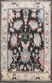 Floral Authentic Oushak Turkish Oriental Area Rug 12x14