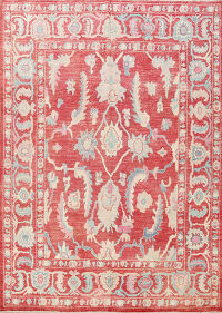 Floral Authentic Oushak Turkish Oriental Area Rug 8x10