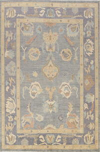 Floral Oushak Oriental Area Rug 8x10